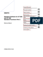 Siemens Simatic S 7 300 - 400 -System and Standard Functions for TI S7 Converter