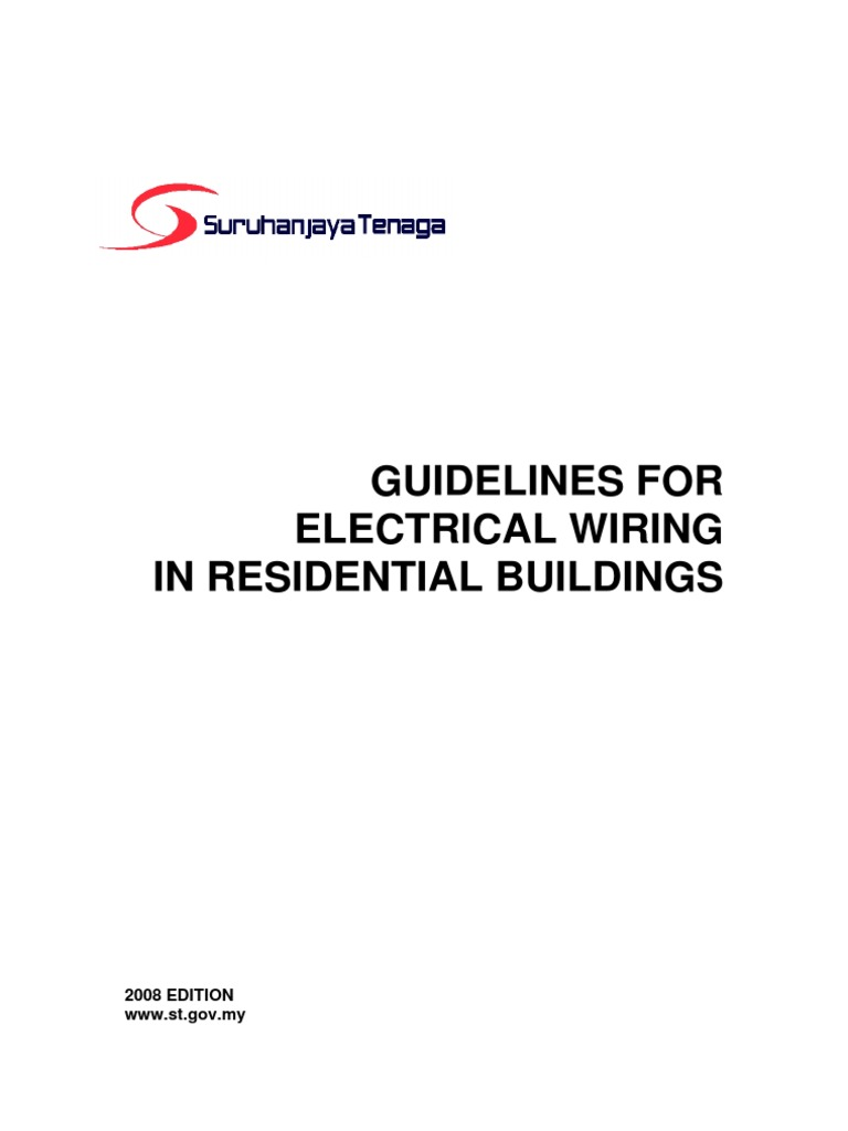 Suruhanjaya Tenaga Guidelines For Wiring Residential Electrical Drawing Approval Fuse