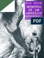 Erik Satie Memorias de Um Amnesico