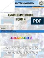 CHAPTER 2 - Introduction to Manufacturing