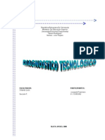 Proyecto de Gestion Tecnologica Diagnostico