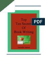 Free Guide Top Ten Secrets of Book Writing Naren Simone