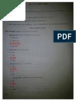 PSA Class XI Answer Key