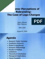 Rebranding AMA2009