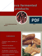 Fermented Cassava products