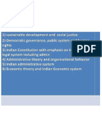 Topics must for civil services after 2012