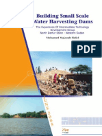 Building Small-scale Water-harvesting Dams