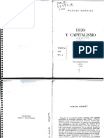19008933 Sombart Lujo y Capitalismo V