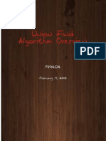 Union Find Algorithm Overview
