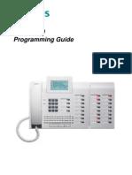 Siemens Hicom 150 Programming Guide