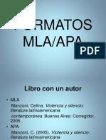 FormatosMLA APA