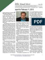 376 - Benjamin Fulford Report for February 11, 2013