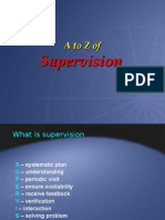 A to Z Supervision