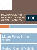 Jay Ythakkar Macro Policy in the World With Perfect Capital
