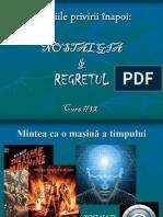 Prezentare Curs 12 - Nostalgia & Regretul [v-2012]