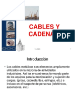 Cables y Cadenas