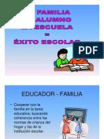 .La Familia, El Alumno, La Escuela