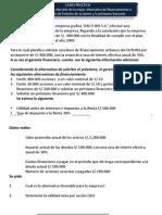 Caso Practico Decision Finaciera Emision de Acciones o Financiamiento