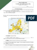 A.4.3 - Ficha de Trabalho - A Europa e a U.E. (1)
