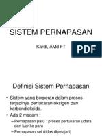 Sistem pernapasan