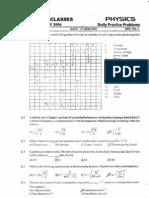 Bansal Classes 11th Standard Physics DPPs