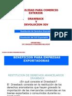 Contabilidad Para Comercio Exterior Drawback y Devolucion de Igv