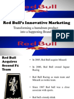 Red Bull's Innovative Marketing