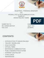 Indian Railway Training PPT