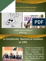 Que Paso Con La Democracia Participativa 2012 B