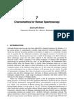 Chemometrics for Raman Spectroscopy
