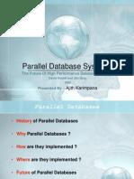Ajith_ParallelDatabase
