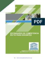 TIC UNESCO Estandares Docentes