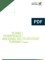 PLANO ESTRATÉGICO NACIONAL TURISMO [MINISTÉRIO ECONOMIA E INOVAÇÃO (2008 - SÍNTESE)]