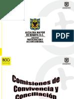 Comisiones de Convivencia y Conciliacion