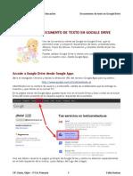 02 Documento de Texto en Google Drive