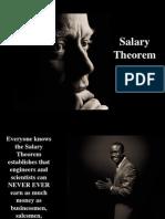 Salary Theorem