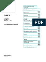 STEP 7 - De S5 a S7
