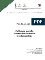 Cultivare Plante Aromatice in Sistem Ecologic Spatariu Dan Bt