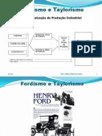 Fordismo e Taylorismo - PPT