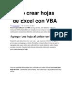Cómo crear hojas de Excel con VBA.doc