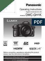 Lumix Gh 1 English