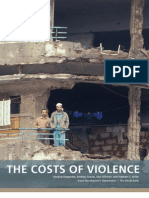 World Bank. the Cost of Violence