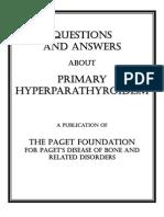 Primary Hyperparathyroidism QA