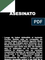 ASESINATO y Bogotazo