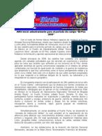 """AMV inició adiestramiento para el período de campo """"El Pao 2009"""""""
