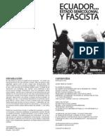 ECUADOR Estado Semicolonial Fascista
