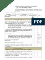 Roteiro  - ALTERAÇÕES NOS CONTRATOS DE SERVIÇOS CONTINUADOS