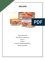 Amul Cheese Marketing Mix
