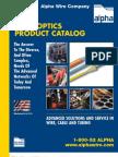 AL FBR3 Fiber Optics Catalog