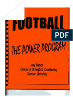 Clemson Power Program